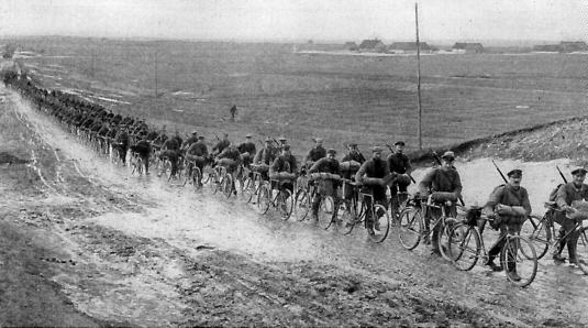 bicycle freedom german soldiers