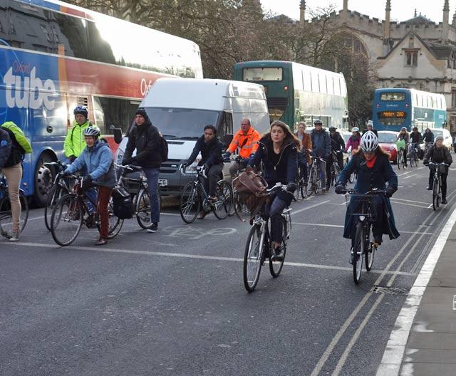many-cyclists