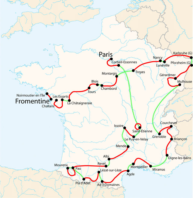 The early editions of the Tour de France helped French gain a better sense of national unity and geographical identity.