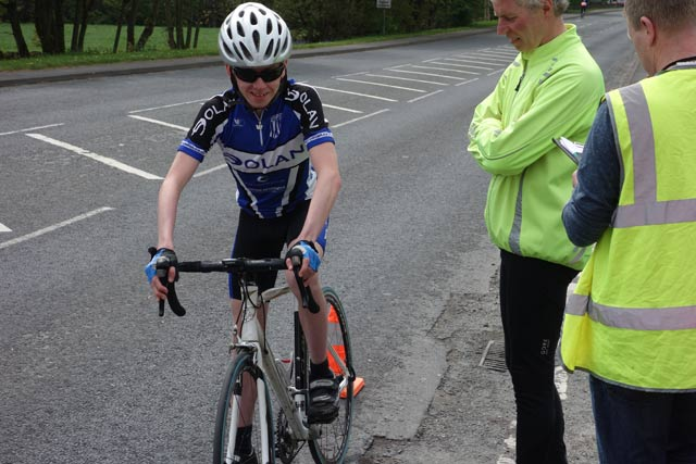 David Murphy. 1st junior 21.17 - even more impressive was winning 75 mile road race the day before