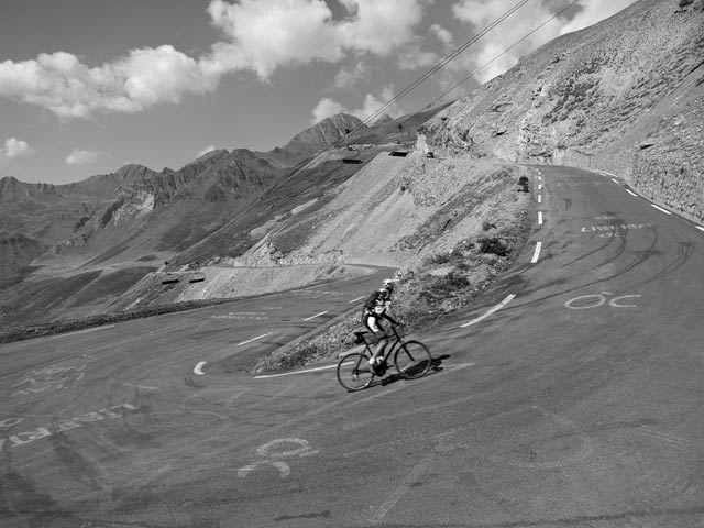 photo Will cyclist - Tormalet