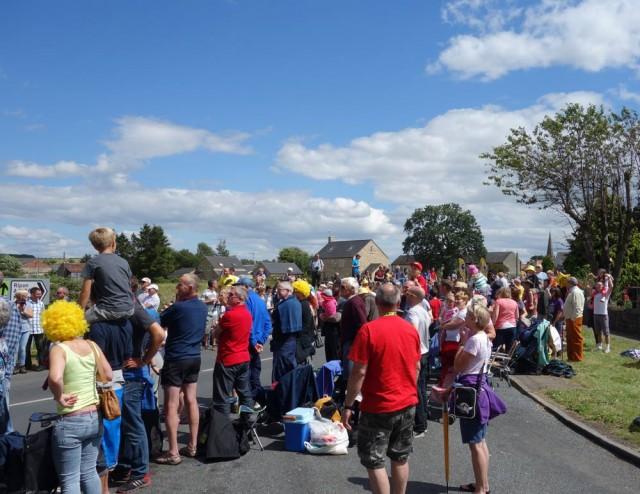 Crowds in Masham