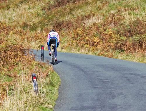 Trough of Bowland cyclist
