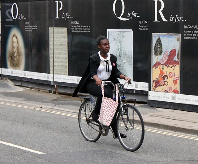 gown-cyclist
