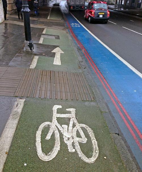 London Cycle path