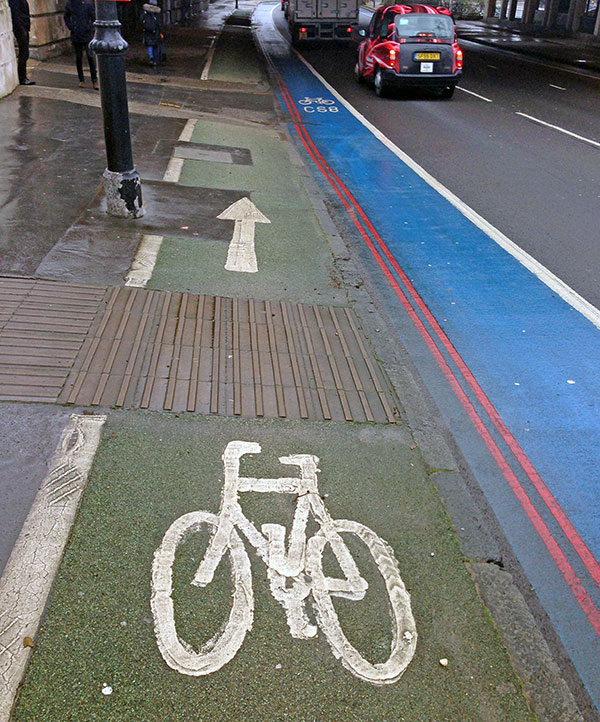 London Cycle path
