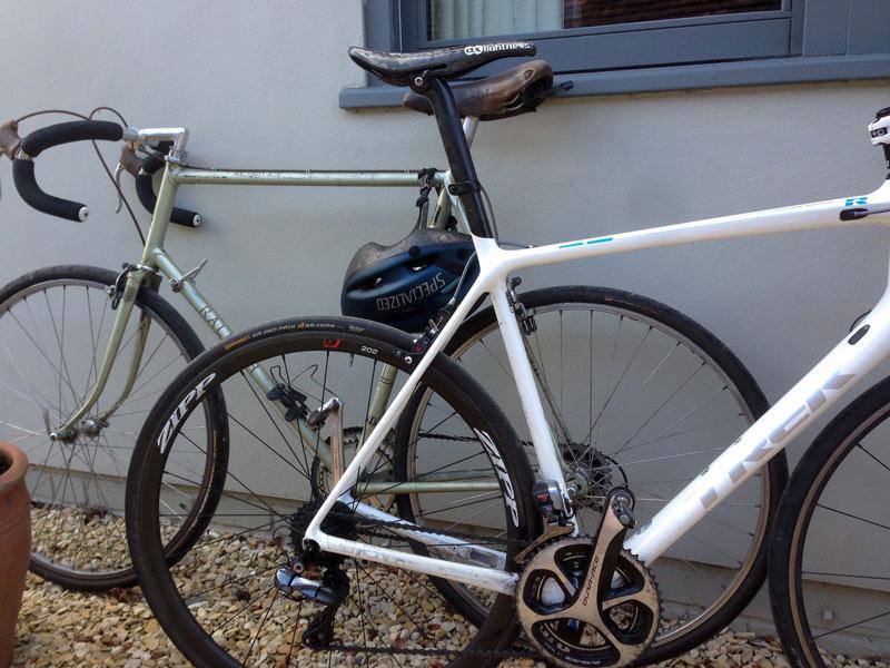 My bike and old bike