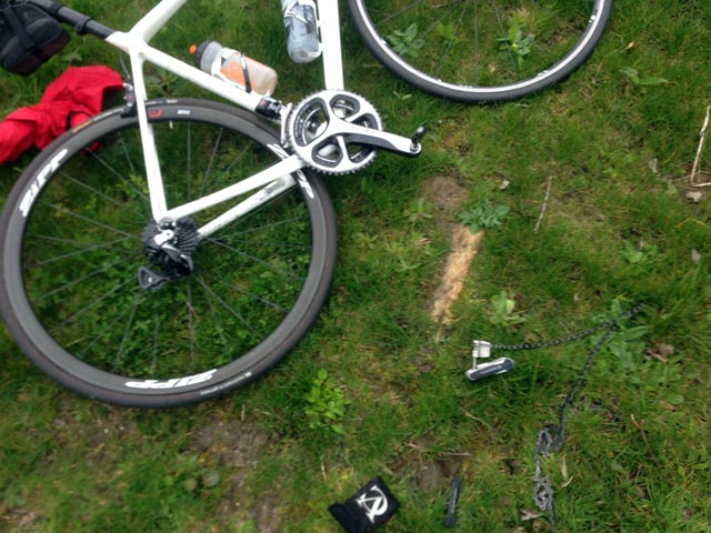 autobiography of broken bicycle chain
